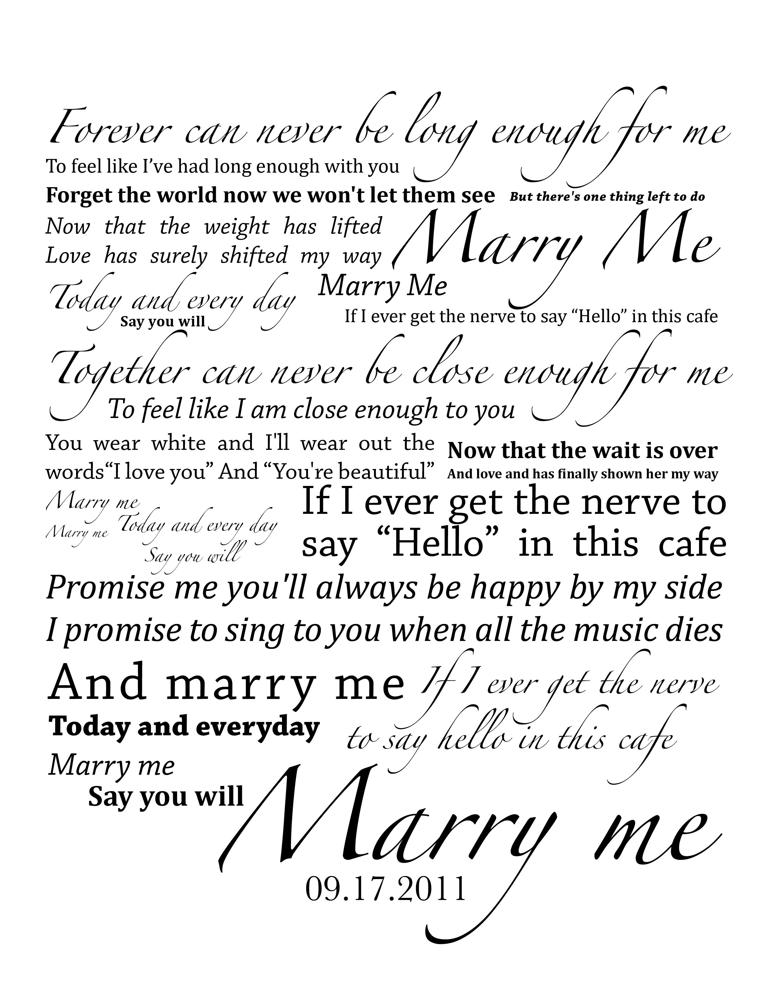 Train Marry Me 3 Love This Song