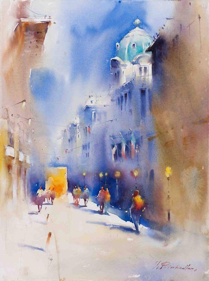 Viktoria Prischedko Peinture Murale Peinture Et Peinture Paysage
