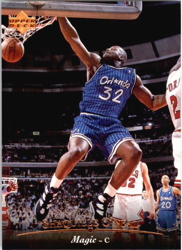 1995 96 Upper Deck 95 Shaquille Oneal Sports Card Sale