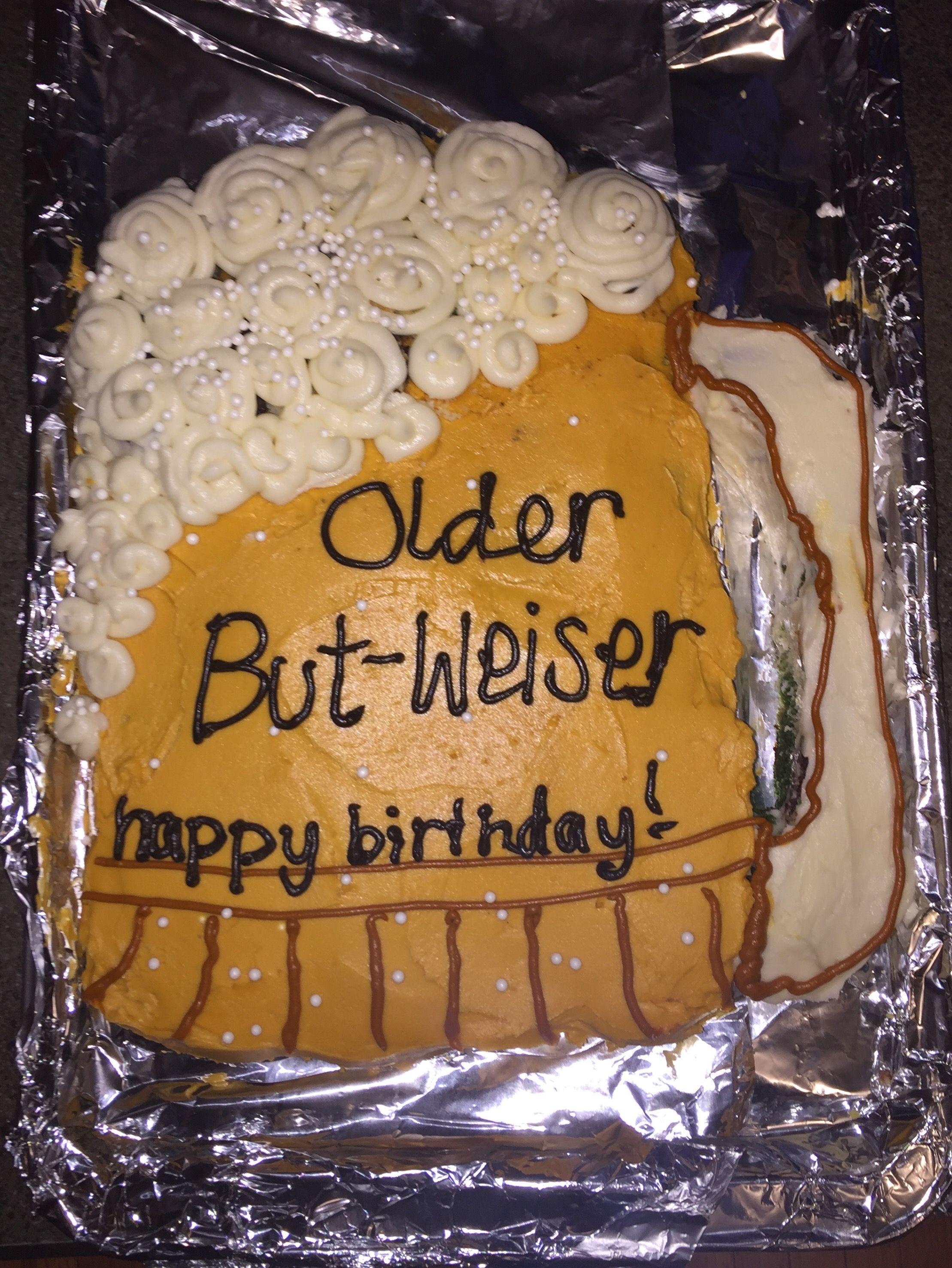 Beer Birthday Cake! #beer #birthdaycake #birthday #happybirthday