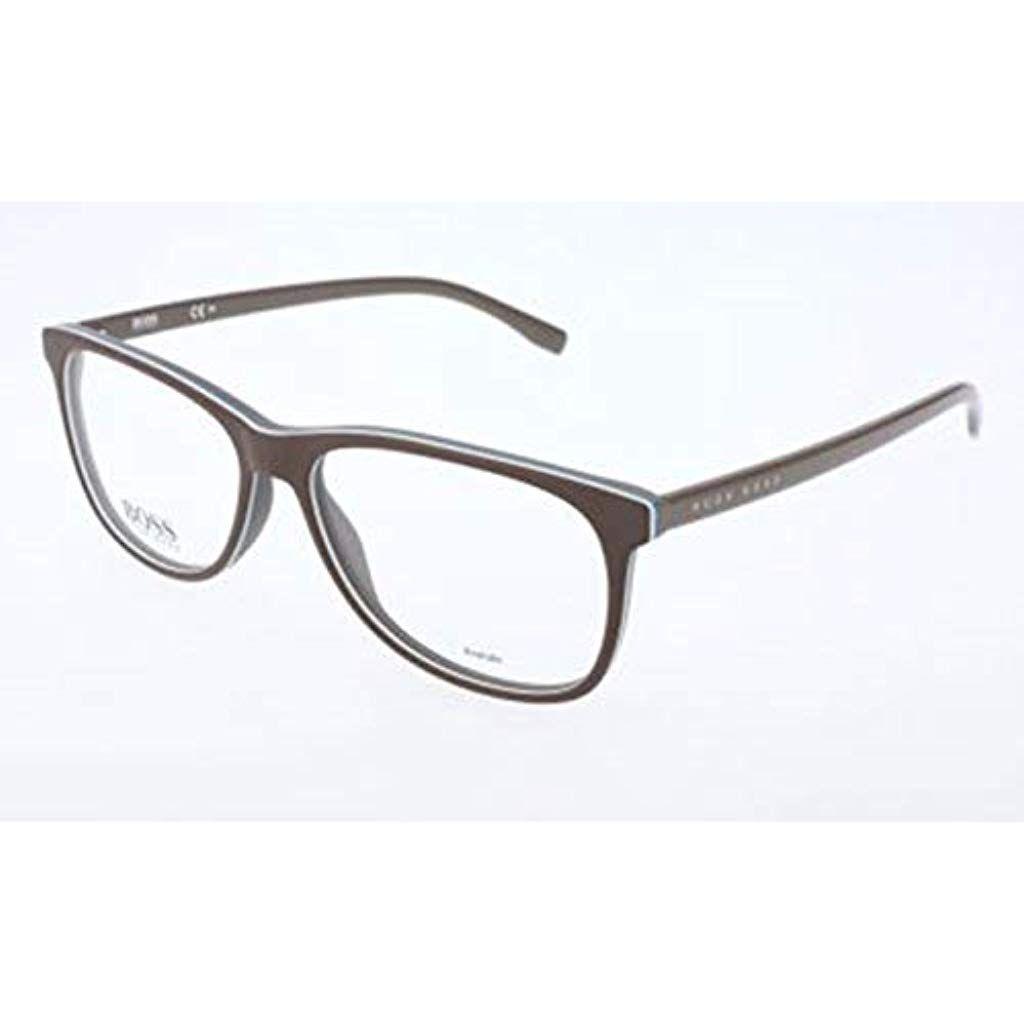 Boss Hugo Herren Hugo Orange Brille Brillengestelle Grau 55 Bekleidung Herren Accessoires Brillen Zubehor Sonnenbrillen Glasses Fashion