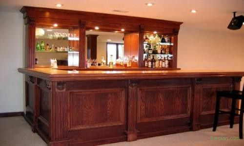Home Bar Ideas Easy Home Bar Plans How To Build A Bar