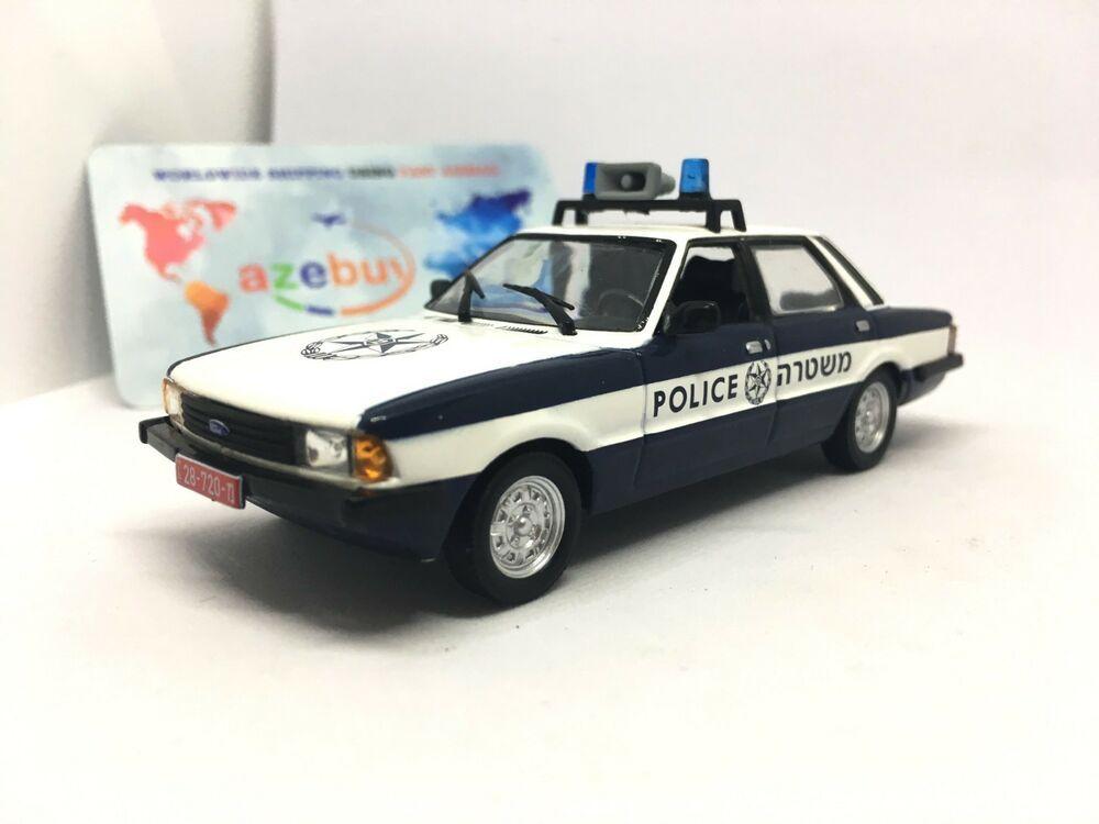 DeAgostini 1:43 Police car of Israel Ford Cortina MKV