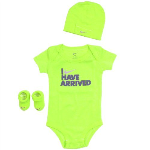 Nike Baby Boy Clothes Pleasing Nike Baby Clothes I Have Arrived 3 Piece Set 06M Volt 06 Months 2018