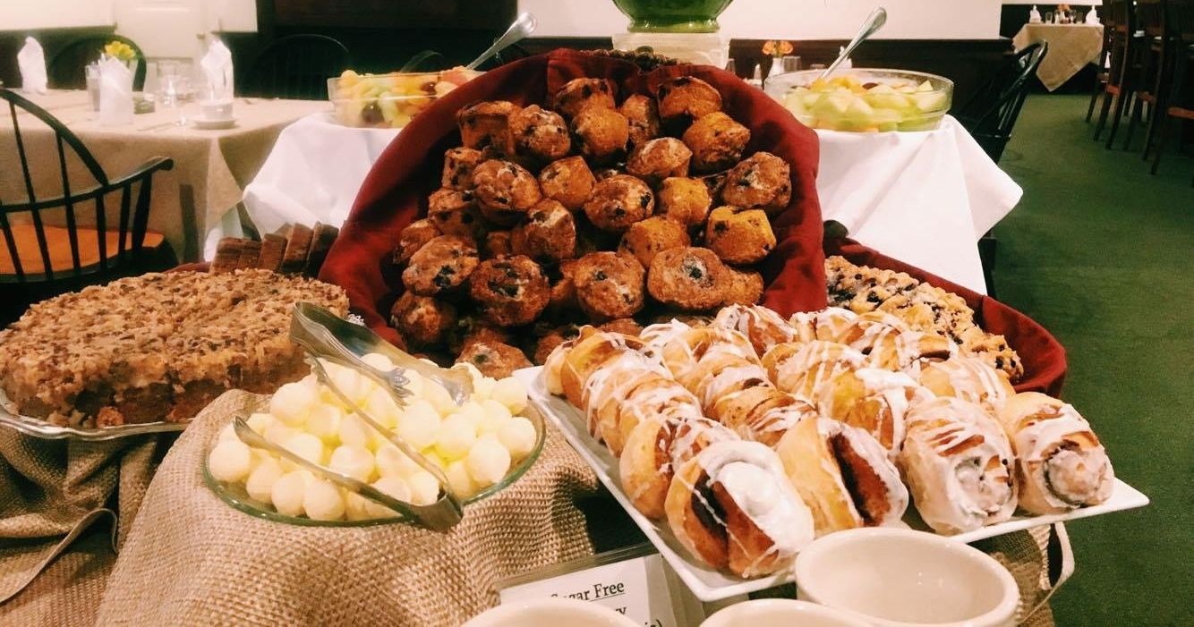 Sensational Pastries At The Breakfast Buffet Harraseeket Inn Freeport Home Interior And Landscaping Transignezvosmurscom