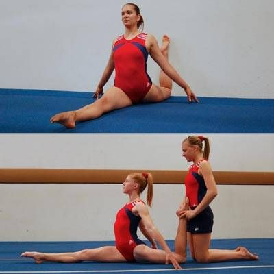 how can you learn to do the splits  degree angle 90