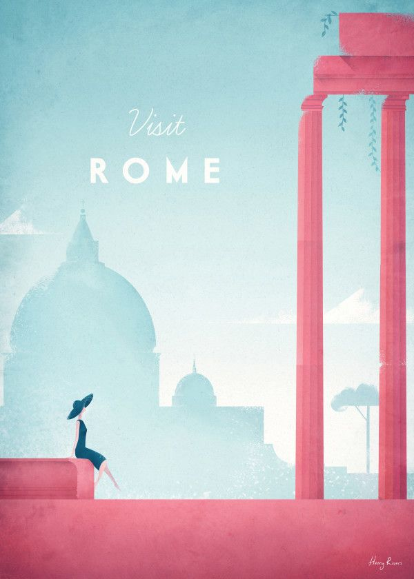 Minimalist Travel Posters Collection