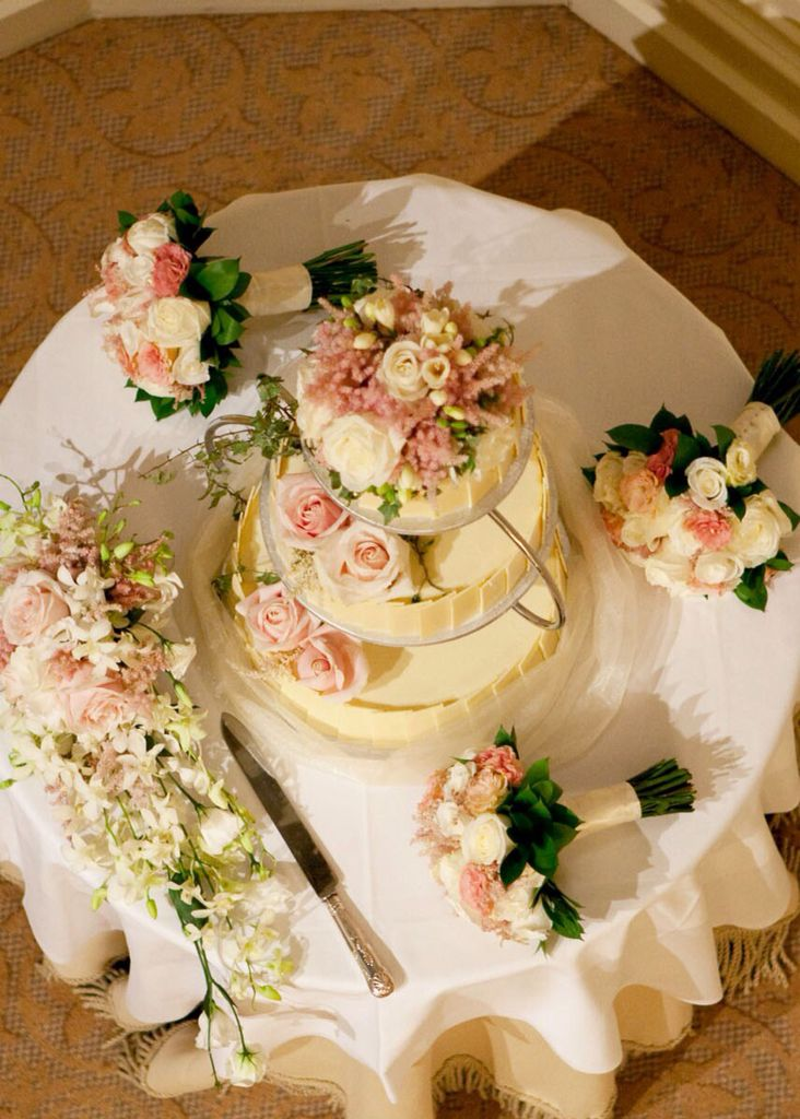 Personalised Wedding Cake