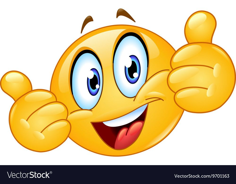 Emoticon Showing Thumbs Up Download A Free Preview Or High Quality Adobe Illustrator Ai Eps Pdf And High Resol Thumbs Up Smiley Emoji Texts Emoticons Emojis