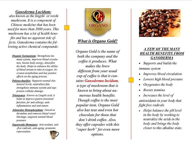 ORGANO GOLD BENEFITS!!!!!!!!!THE REASON DECIDED TO