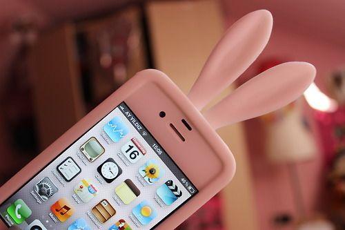 Rabbit ears iphone case