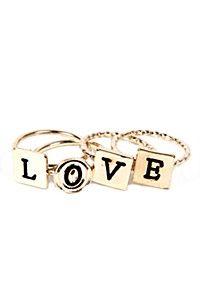 RING STACK LOVE