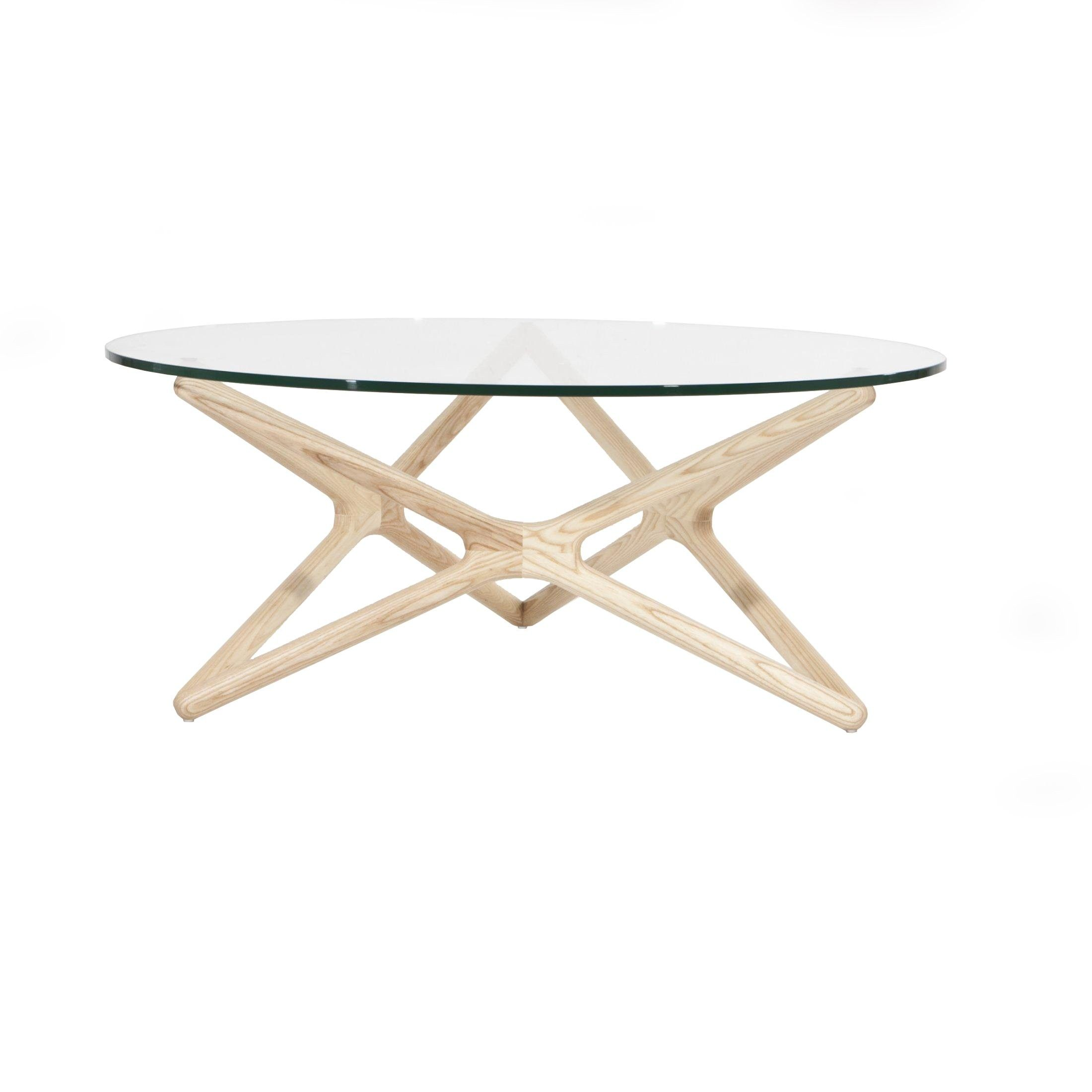 Cool Round Gl Coffee Table Wood Base For Interior Home Paint Color Ideas