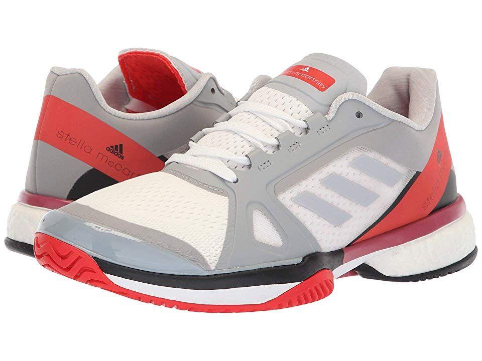 adidas Womens aSMC Barricade Boost Tennis Shoes Grey Sports