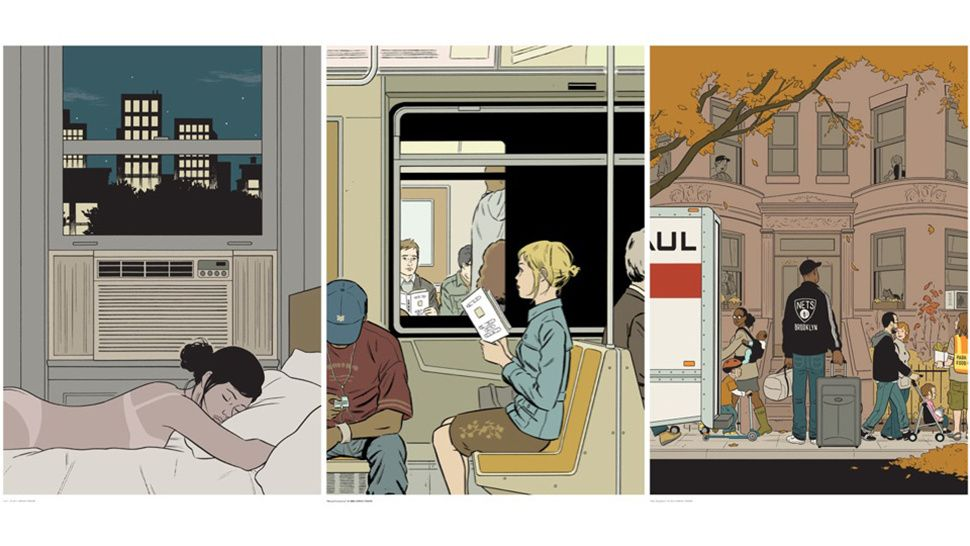Beautiful Prints From Iconic New Yorker Artist Adrian Tomine... has a talent for capturing the strangeness and beauty of life in a city. Tomine maintains an online store where you can buy select pieces, including bevy of new large-format prints from New York Drawings, the beautiful collection of New York-centric illustrations he recently published with Drawn and Quarterly. ... #Art #Artwork #Painting #Design #Artist