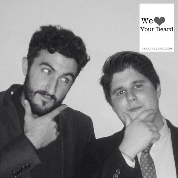 Felix and friend , Granada #beardrevered #beard