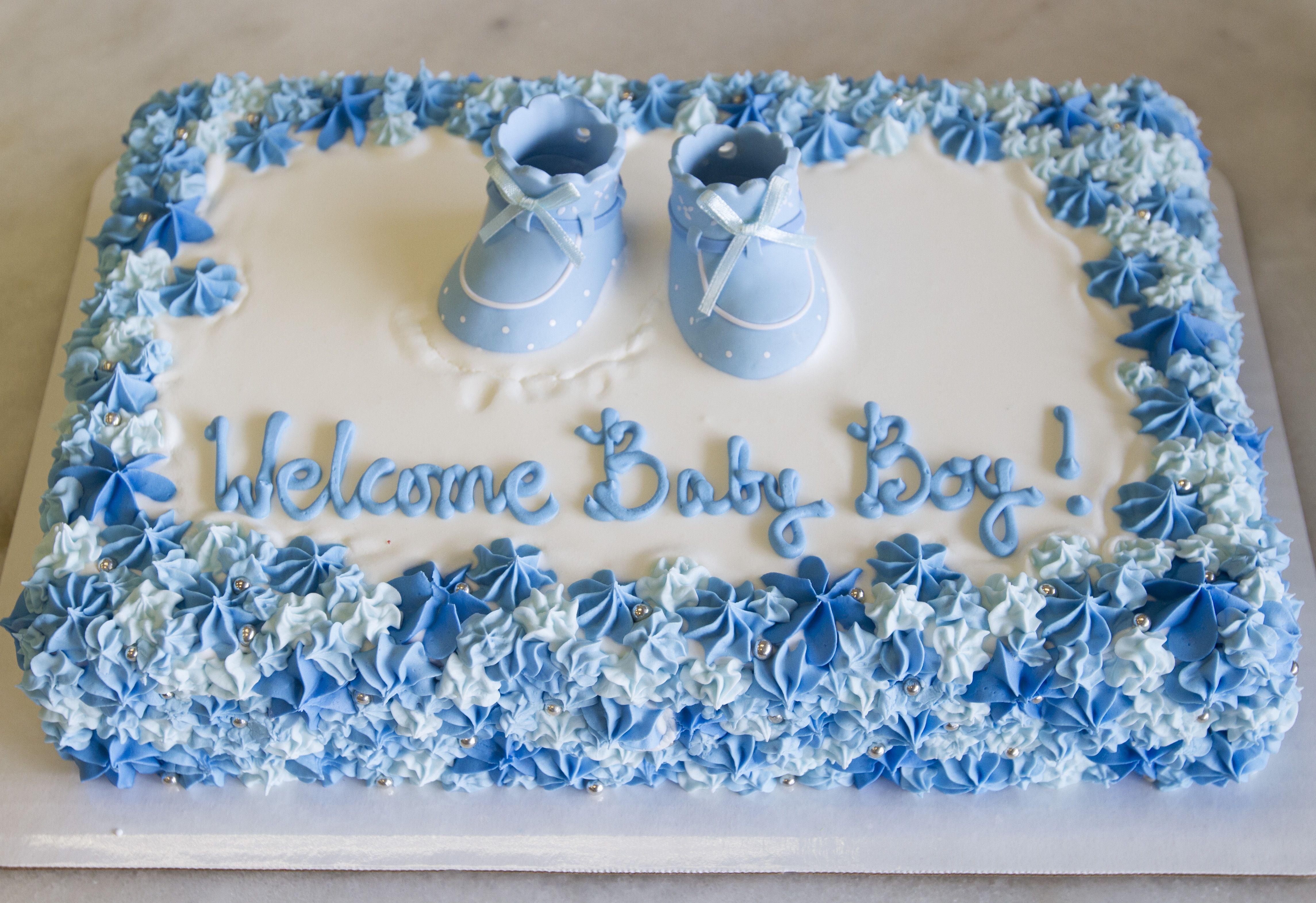 Bakery Cakes In 2020 Baby Shower Cakes For Boys Baby Shower