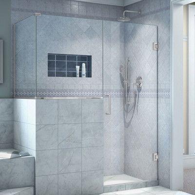 Dreamline Unidoor Plus 46 X 36 38 X 72 Rectangle Hinged Shower