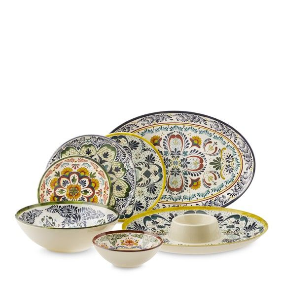 Veracruz Dinnerware Collection Williams Sonoma Dinnerware