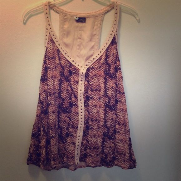 Urban Outfitters Tank top Very cool back, love this shirt Urban Outfitters Tops Tank Tops