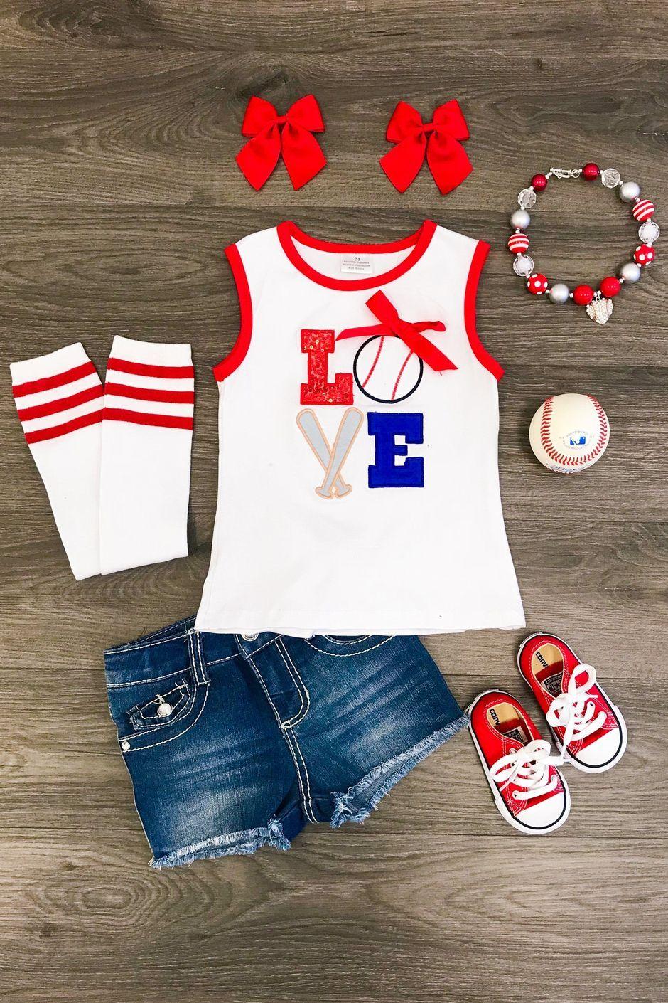Springsummer mystery boxes girls baseball outfit baby