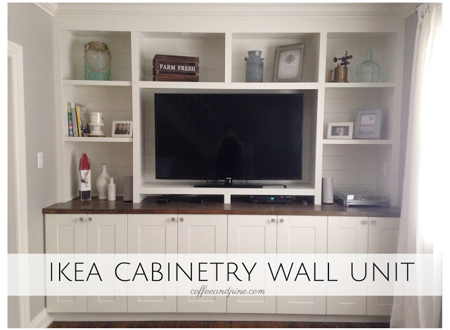 Our Home Renovation Phase 2 Of 3 Ikea Wall Units Diy Wall Unit