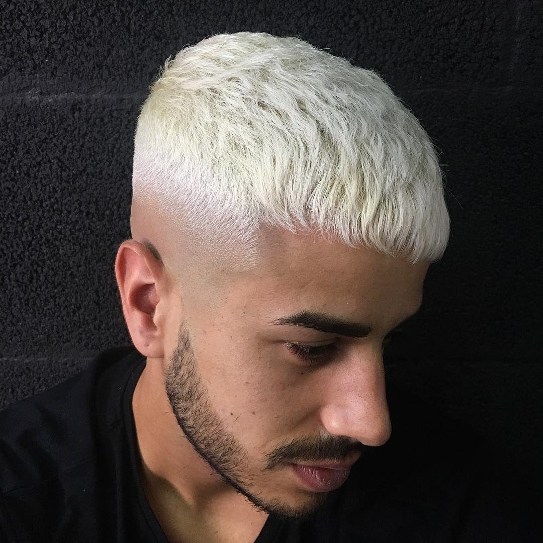138 Me Gusta 5 Comentarios Aday Kruz Barber Adaykruzbarber En Instagram Color Texture Wahl5star W Bleached Hair Men Men Blonde Hair Dyed Hair Men