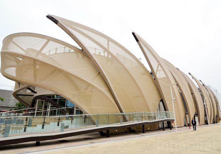 Mexico's sublime Milan Expo 2015 pavilion resembles corn on th...