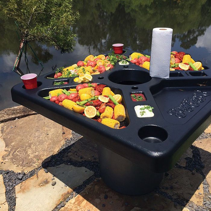 Backyard Bayou Union City Ca: Tailgating Supplies Outdoor Buffet Table Fits Over Trash