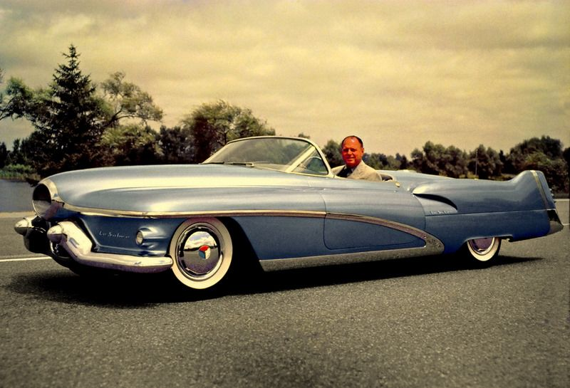Harley Earl and the 1951 General Motors Le Sabre concept