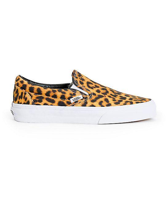 1027a80547 Vans Digi Leopard Slip On Shoes (Womens)
