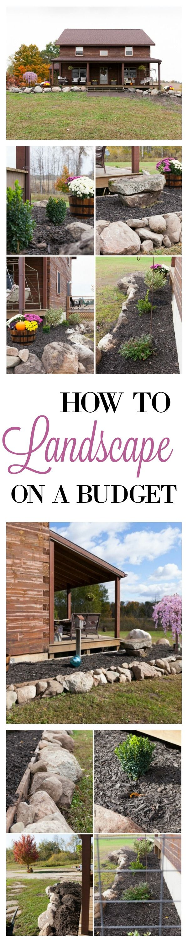 how to landscape for under 100 how to landscape landscapes and