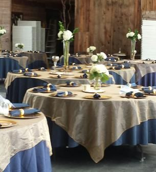 Linen Tablecloths (white, Black, Grey, Silver, Ivory, Purple, Red, Navy Blue)  Burlap Runners, Burlap Table Squares Black U0026 White Flocking Damask Aisle ...