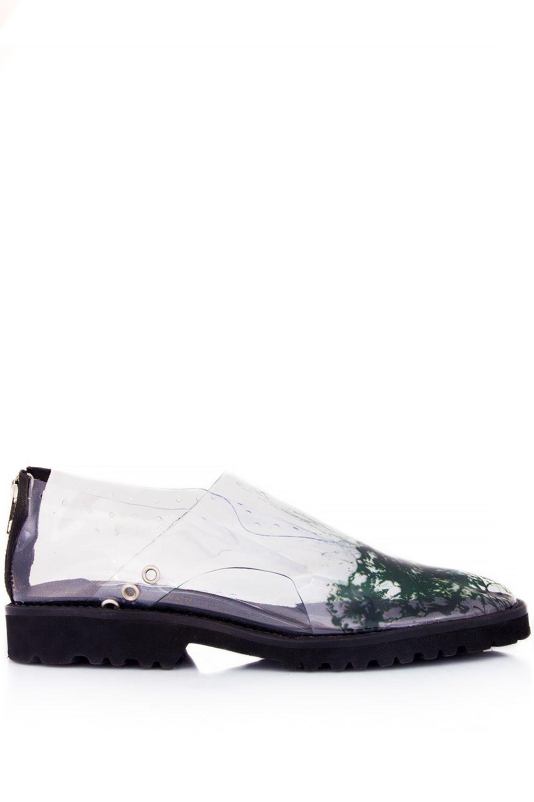 Monocrystal Transparent Shoes | Bianca Georgescu | NOT JUST A LABEL