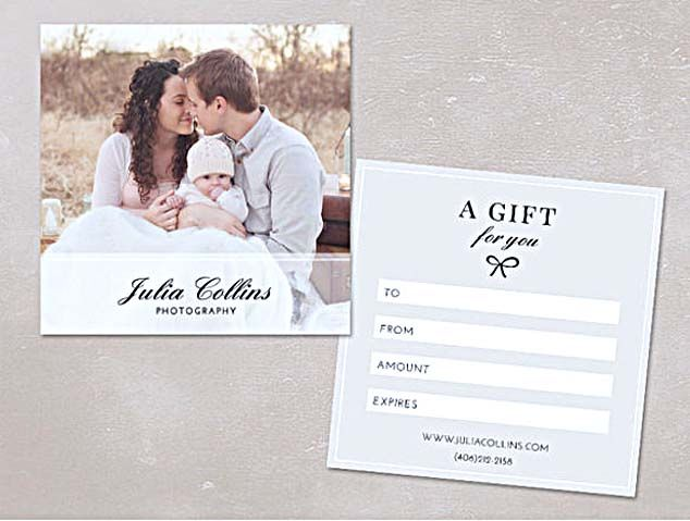 The Advantages of Offering Photography Gift Certificate Template - photography gift certificate template