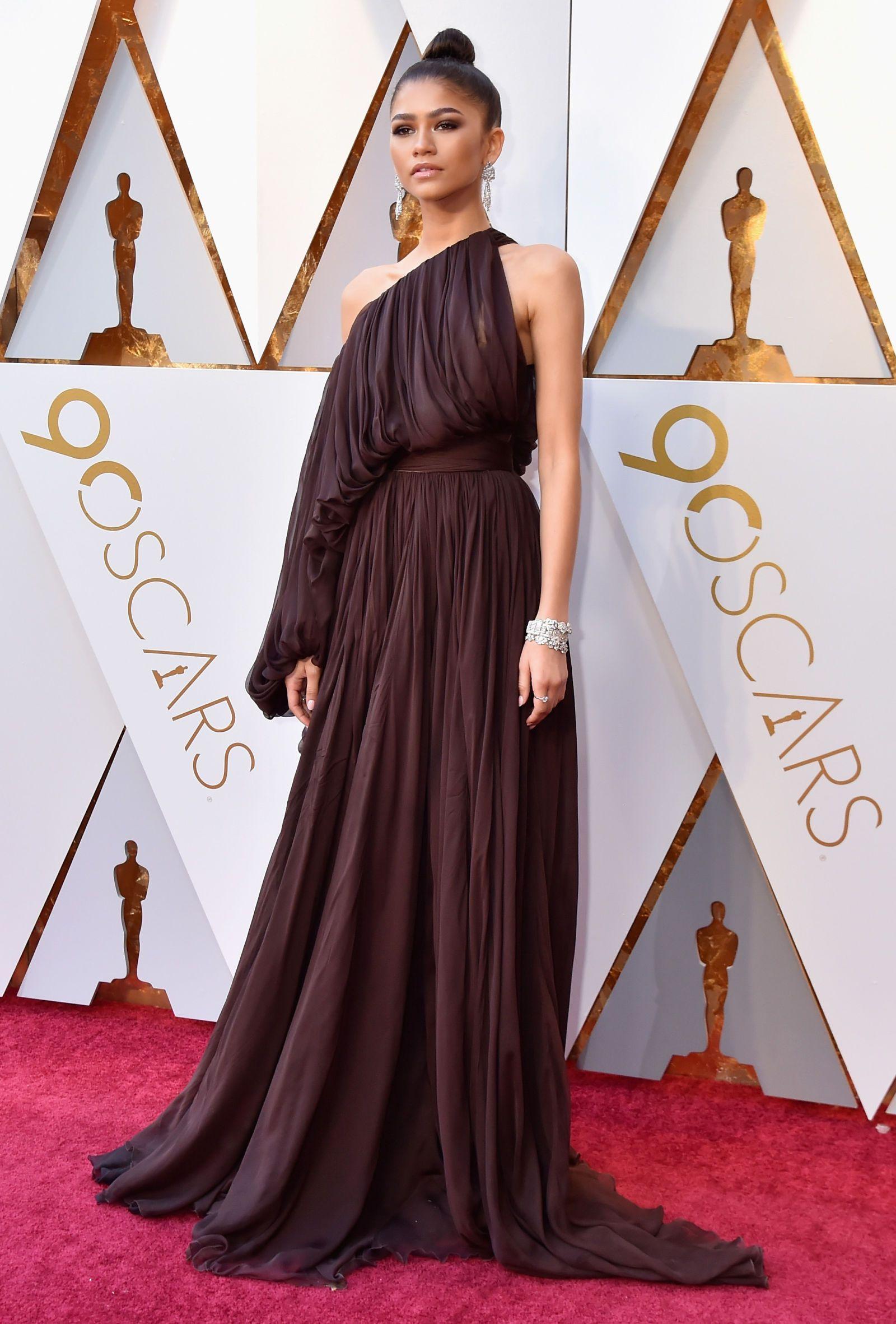 4d634b8500f ... red carpet at the Oscars 2018. Zendaya. Zendaya Nice Dresses