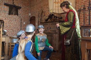 Kinderfeestjes In Gelderland Ridderslag In Kasteel Huis Bergh S