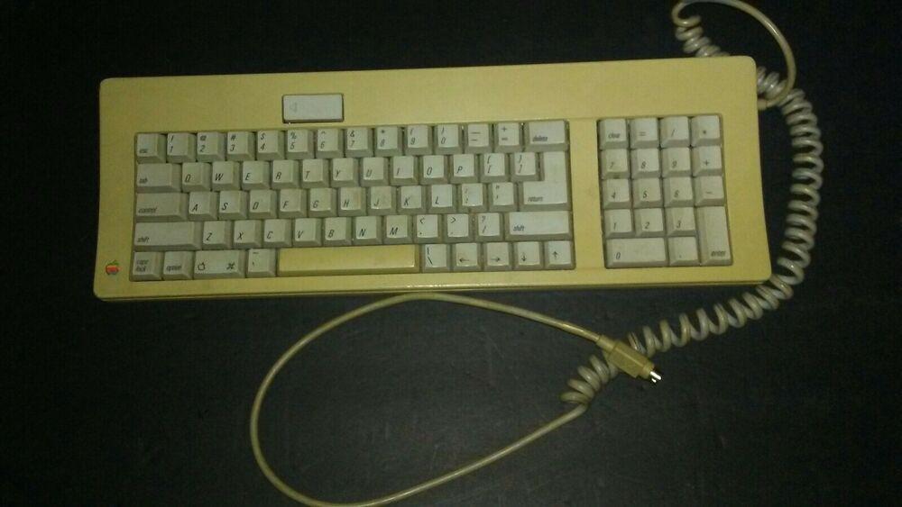 Vintage Apple Keyboard M0116 Macintosh Mac Not Tested Apple Vintage Apple Apple Keyboard Keyboard