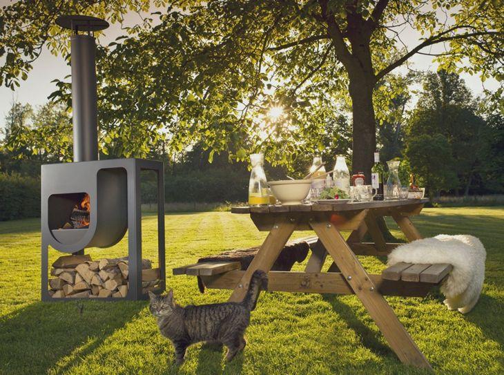 Decoracion fuego para diseñar espacios exteriores | Pinterest ...