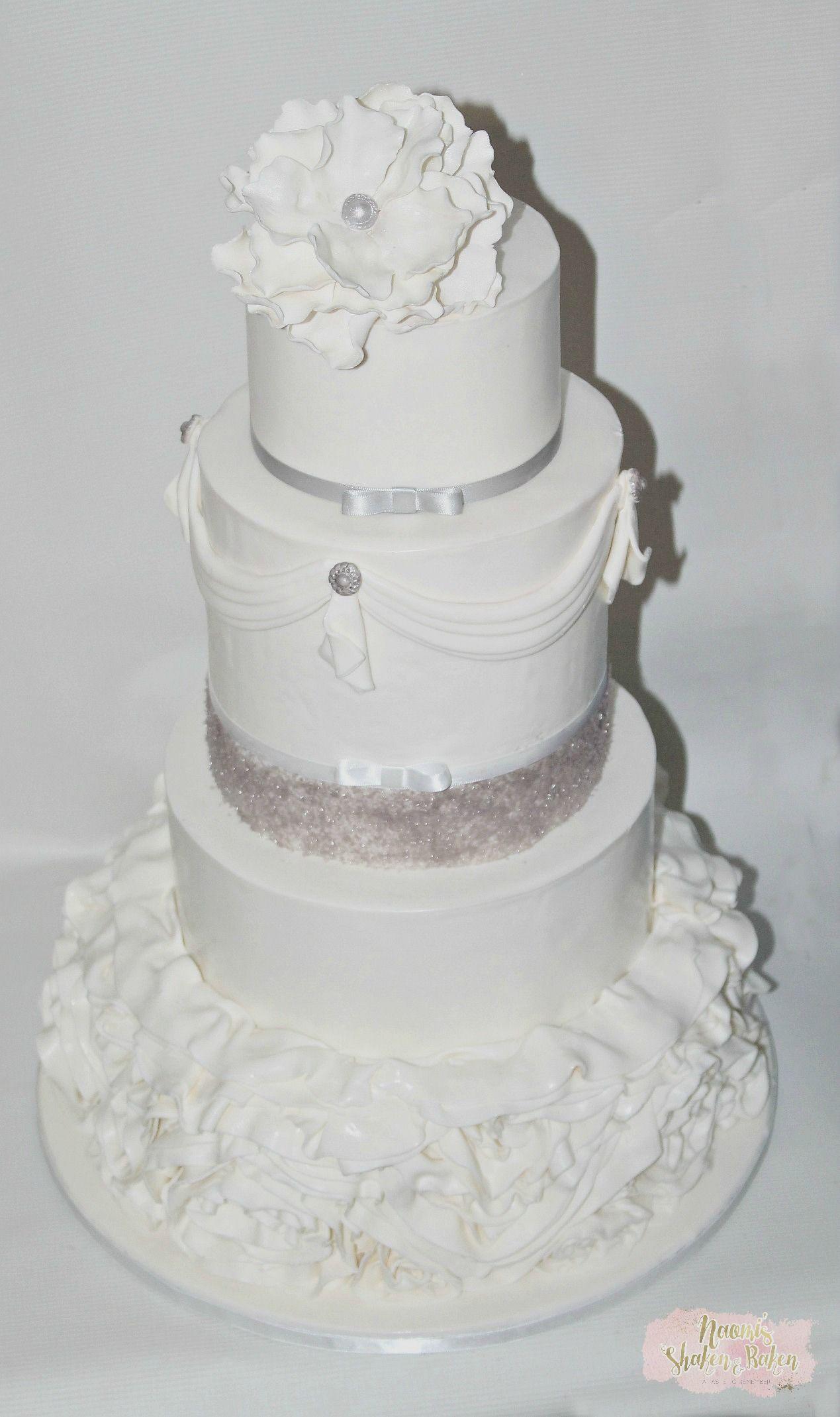 Elegant wedding cake #wedding #weddingcake #bne #brisbane #goldcoast ...