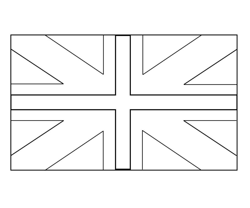 The British Flag Coloring Page Flag Coloring Pages British Flag Ideas American Flag Coloring Page