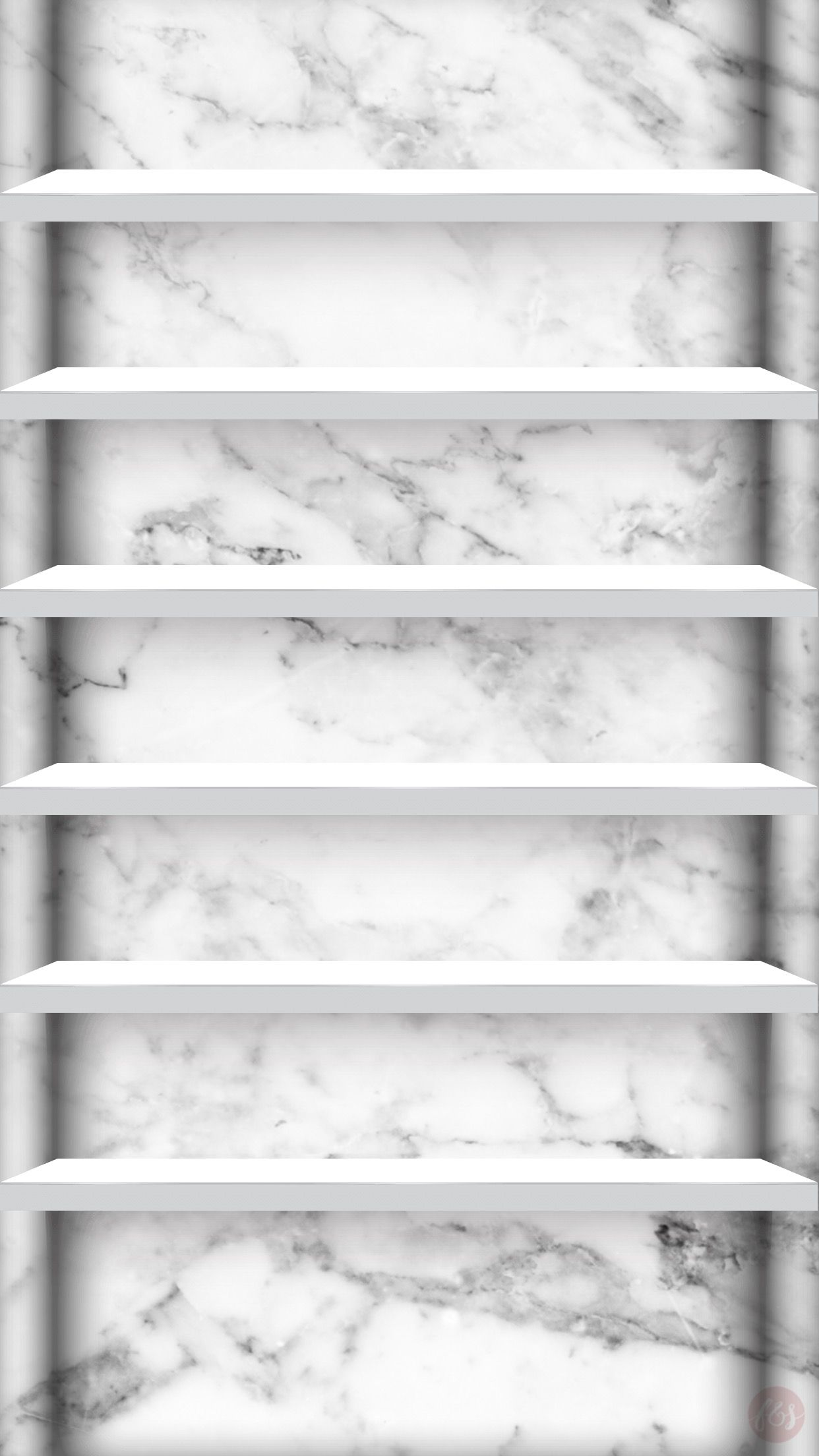 Marble Iphone Shelves In 2019 Marble Iphone Wallpaper