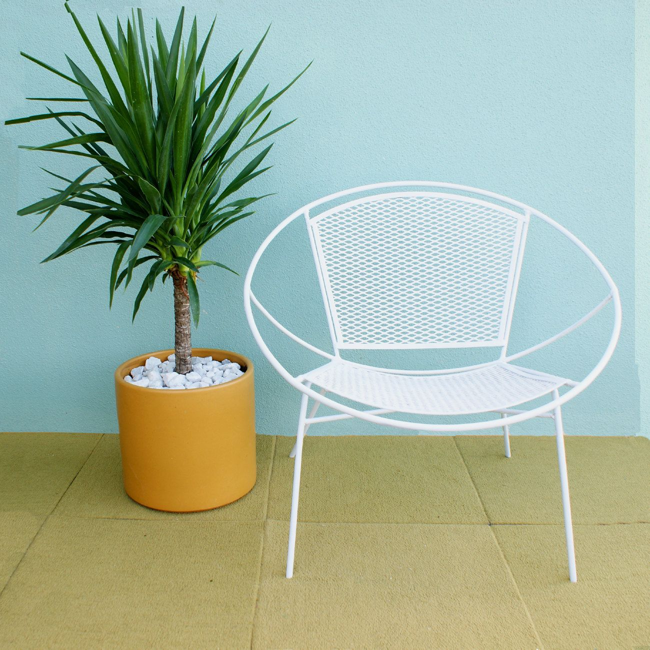 Pair of Salterini Hoop Mid Century Patio Lounge Chairs | Rizos ...