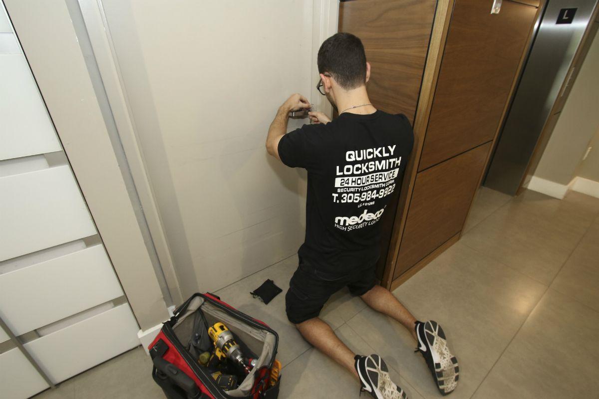 Affordable locksmith by Quickly Locksmith Miami