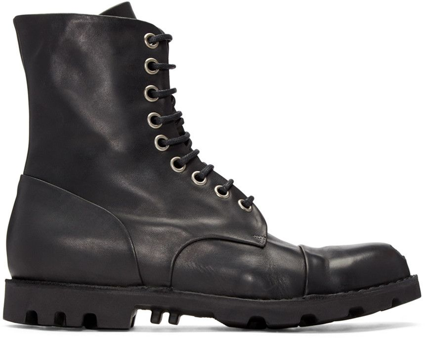 diesel steel bottines noir