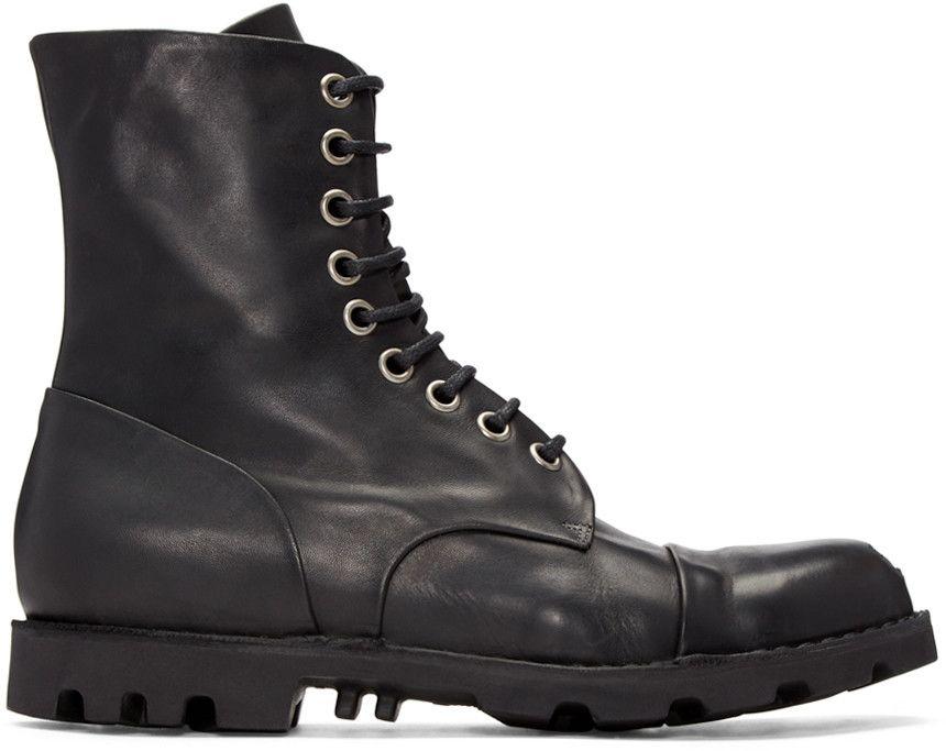 26ff67f3abc DIESEL Black Steel Boots. #diesel #shoes #boots | Diesel Men ...