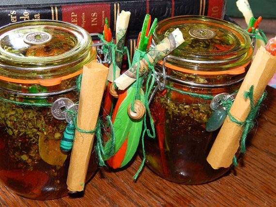 Jupiter Honey Jar Honey Jar Spell Hoodoo Money by esoTERRAca
