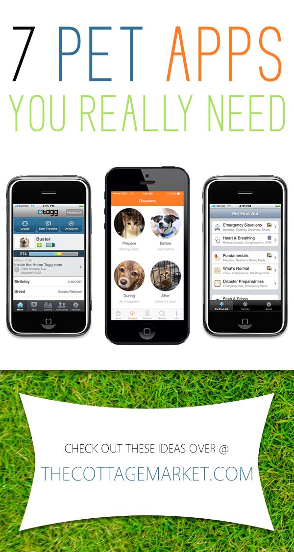 7 Pet Apps You Really Need Pet Health Pet Care Printables Pet Hacks