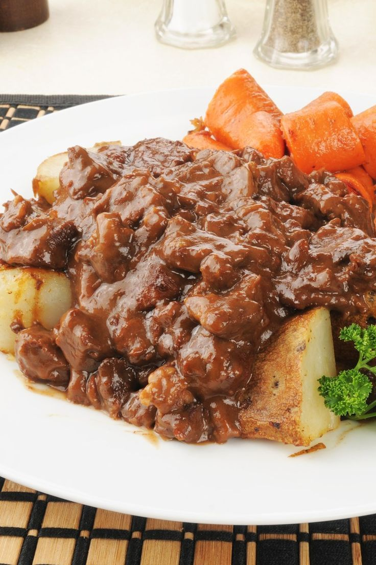 Melt in Your Mouth Beef Tips with Gravy images