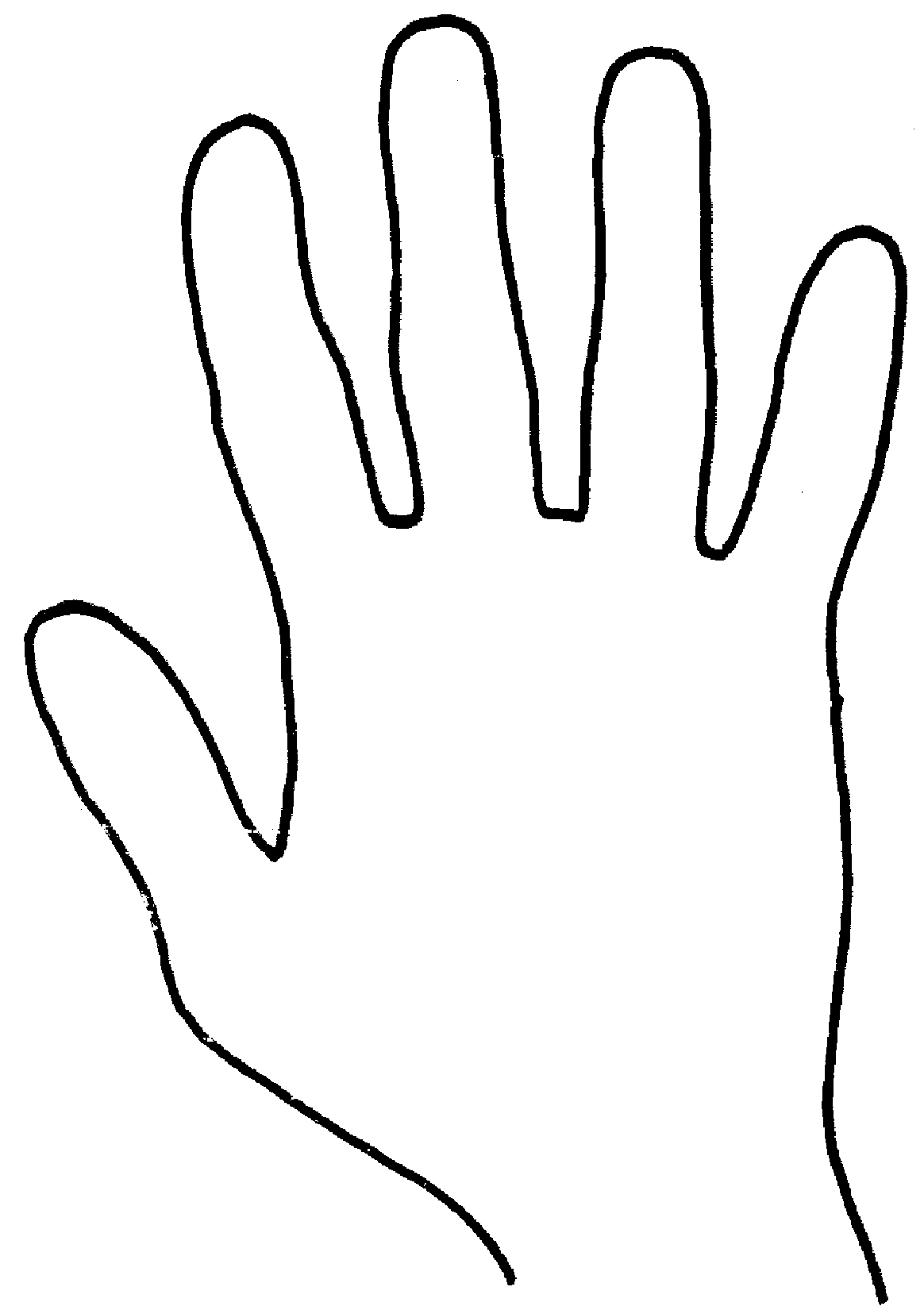 Hand Template Print Out A Bunch And Modify Or Fill In As You See Or Please Palmistry Palm Reading Hand Palm [ 1650 x 1164 Pixel ]